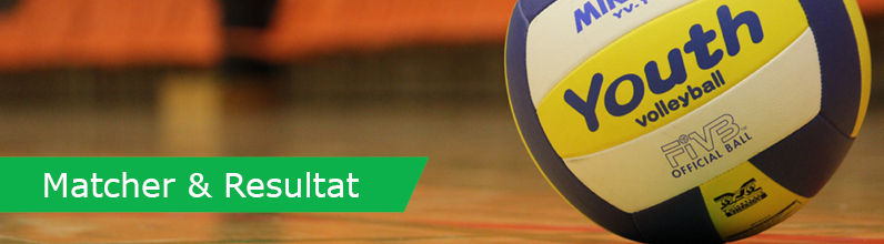 Volleyboll Matcher & Resultat