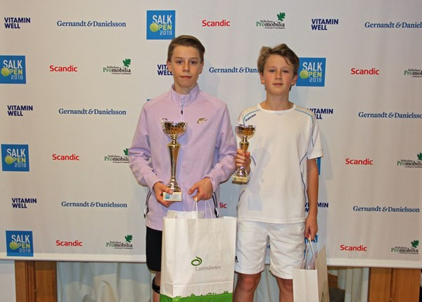 SALK Open 2019 Finalister PS14B William Almroth och William Tejme