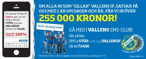 Vallens IF SMS Club